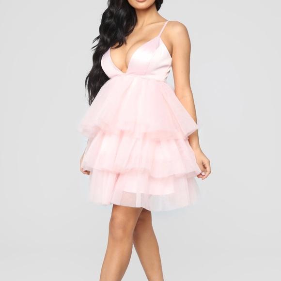 Fashion Nova Dresses Cardi B Inspired Ruffle Dress Poshmark